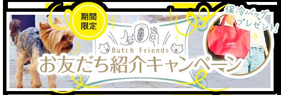 ブッチ 友達紹介キャンペーン